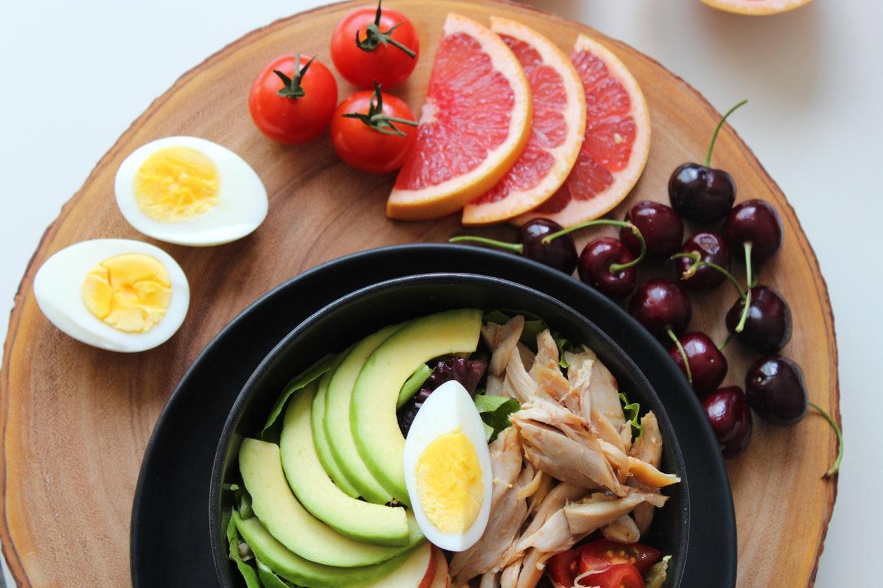 sund frokost på arbejdsplads